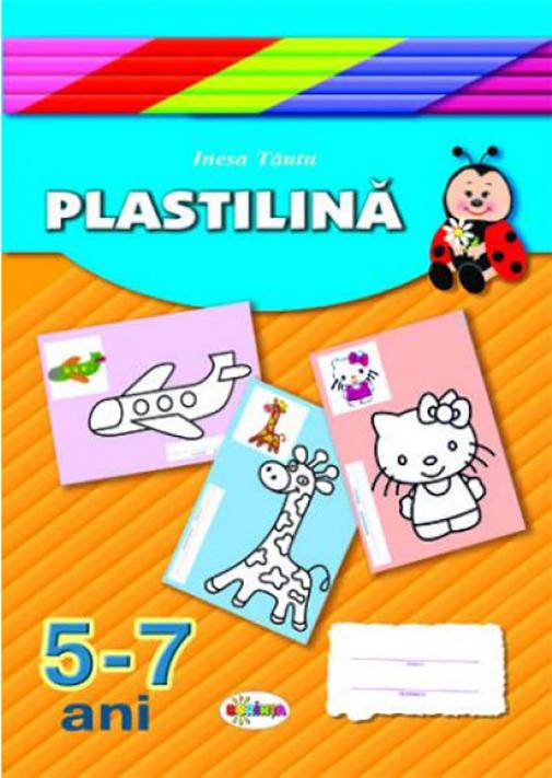 Mapa - Plastilina. 5-7 ani