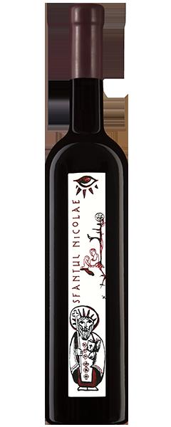 Vin rosu - Cupola Sanctis - Sfantul Nicolae, cupaj rosu, 2013, sec Crama Oprisor