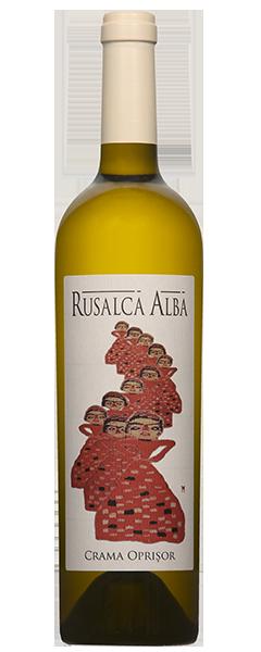 Vin alb - Rusalca Alba, Chardonnay/Pinot Gris/Sauvignon Blanc/Rhein Riesling, 2015, sec Crama Oprisor