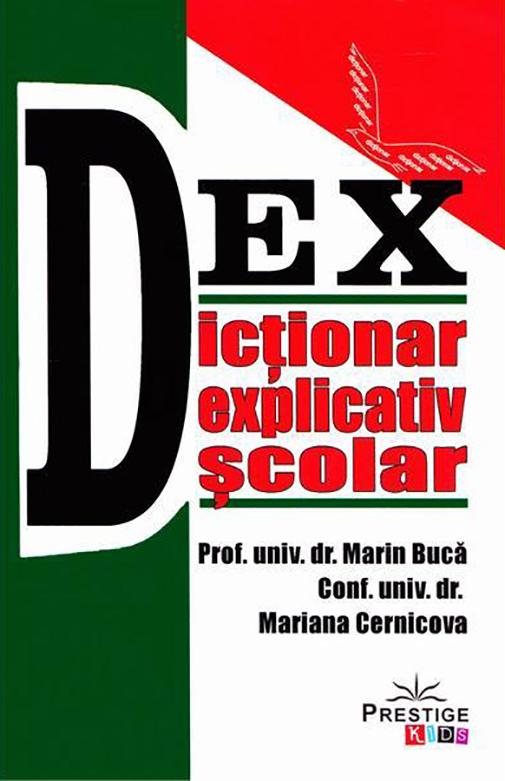 Dictionar explicativ scolar   Marin Buca, Mariana Cernicova Buca
