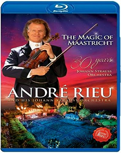 Andre Rieu: The Magic Of Maastricht - Blu Ray Disc