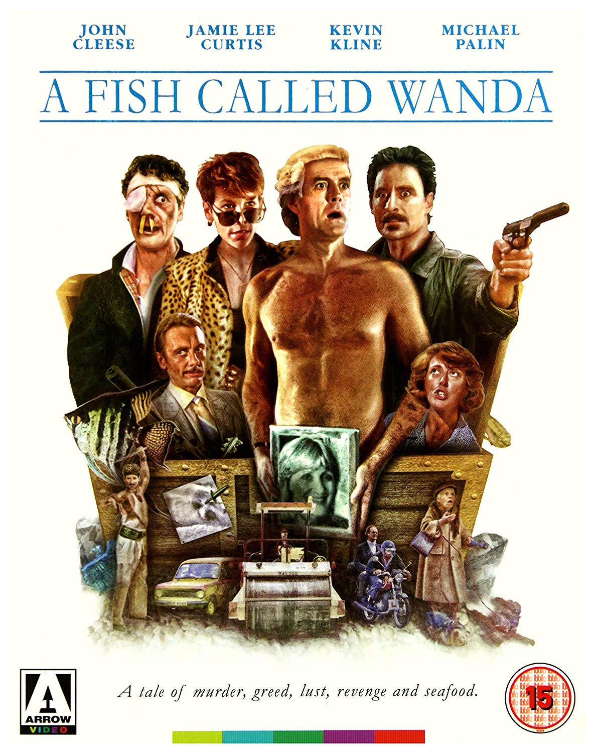 A Fish Called Wanda (Blu Ray Disc) thumbnail