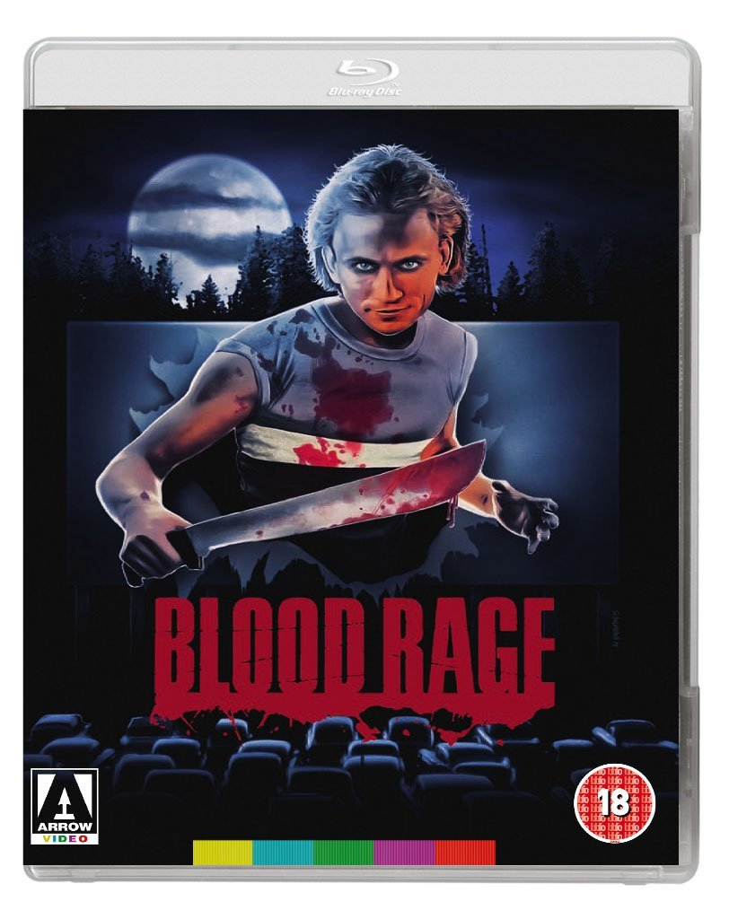 Blood Rage (Blu Ray Disc + DVD) thumbnail