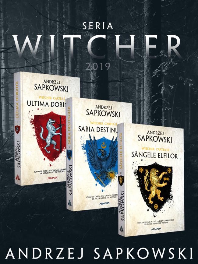 Pachet Witcher - 3 volume | Andrzej Sapkowski