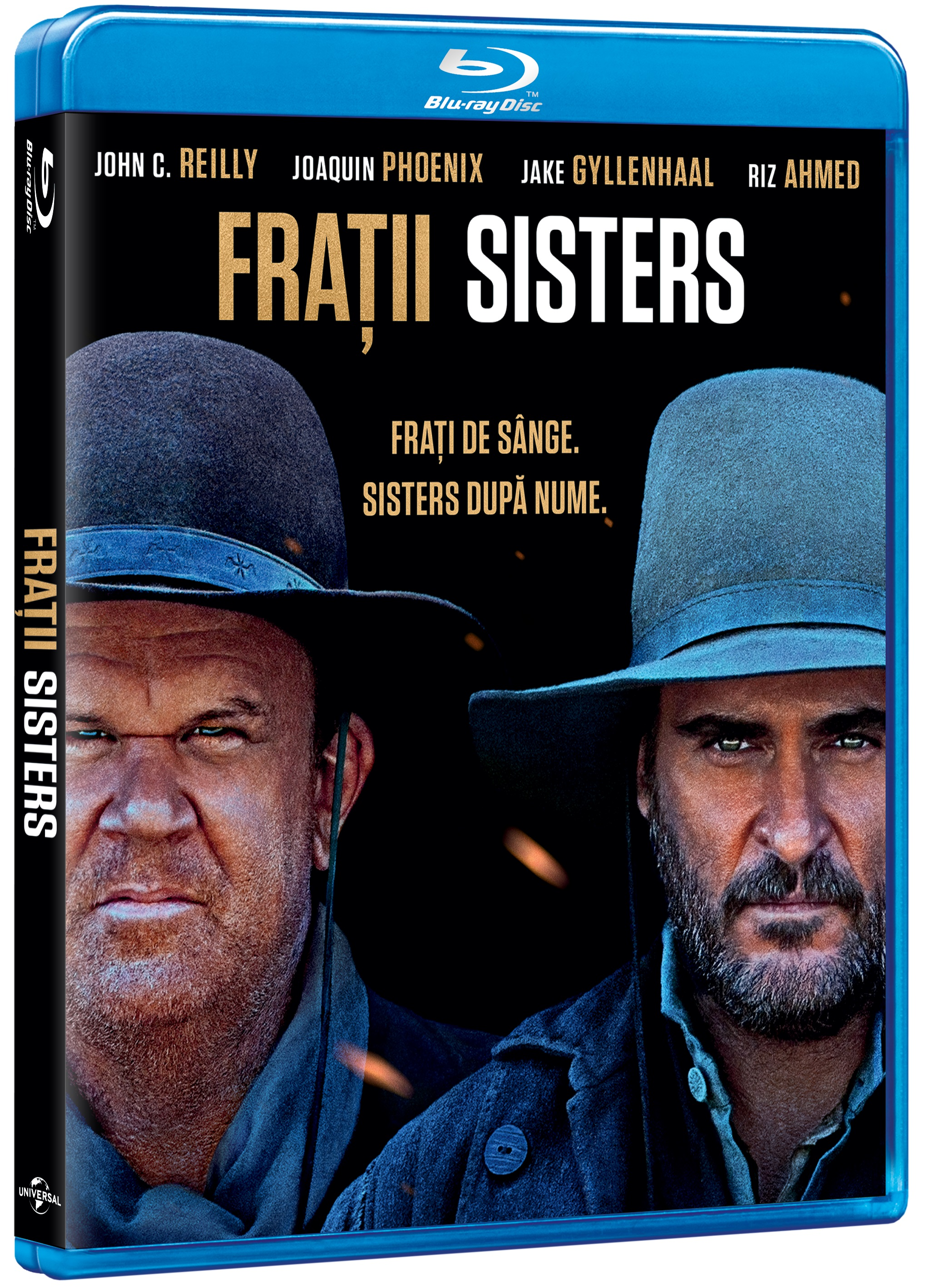 Fratii Sisters / The Sisters Brothers (Blu-Ray Disc) thumbnail