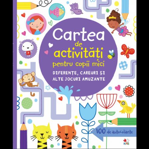 Cartea de activitati pentru copii mici. Diferente, careuri si alte jocuri amuzante   Lucy Bowman, James Maclaine
