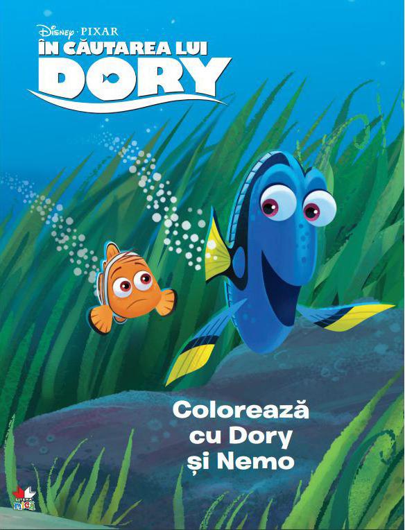 Disney. In Cautarea lui Dory. Coloreaza cu Dory si cu Nemo thumbnail