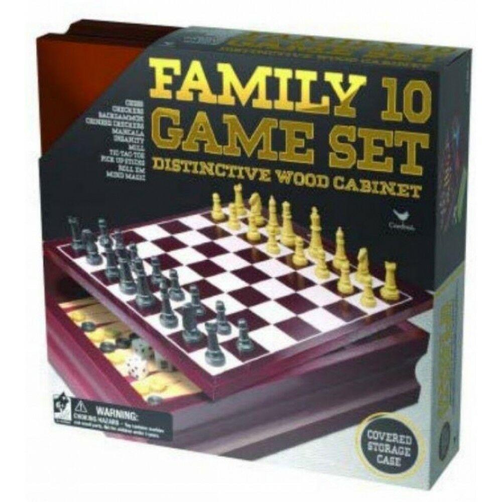 Jocuri - Family 10 Games Set   Viva Toys
