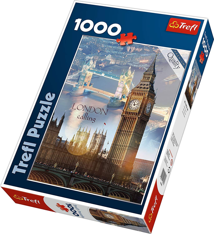 Puzzle 1000 piese - Zori de zi la Londra | Trefl