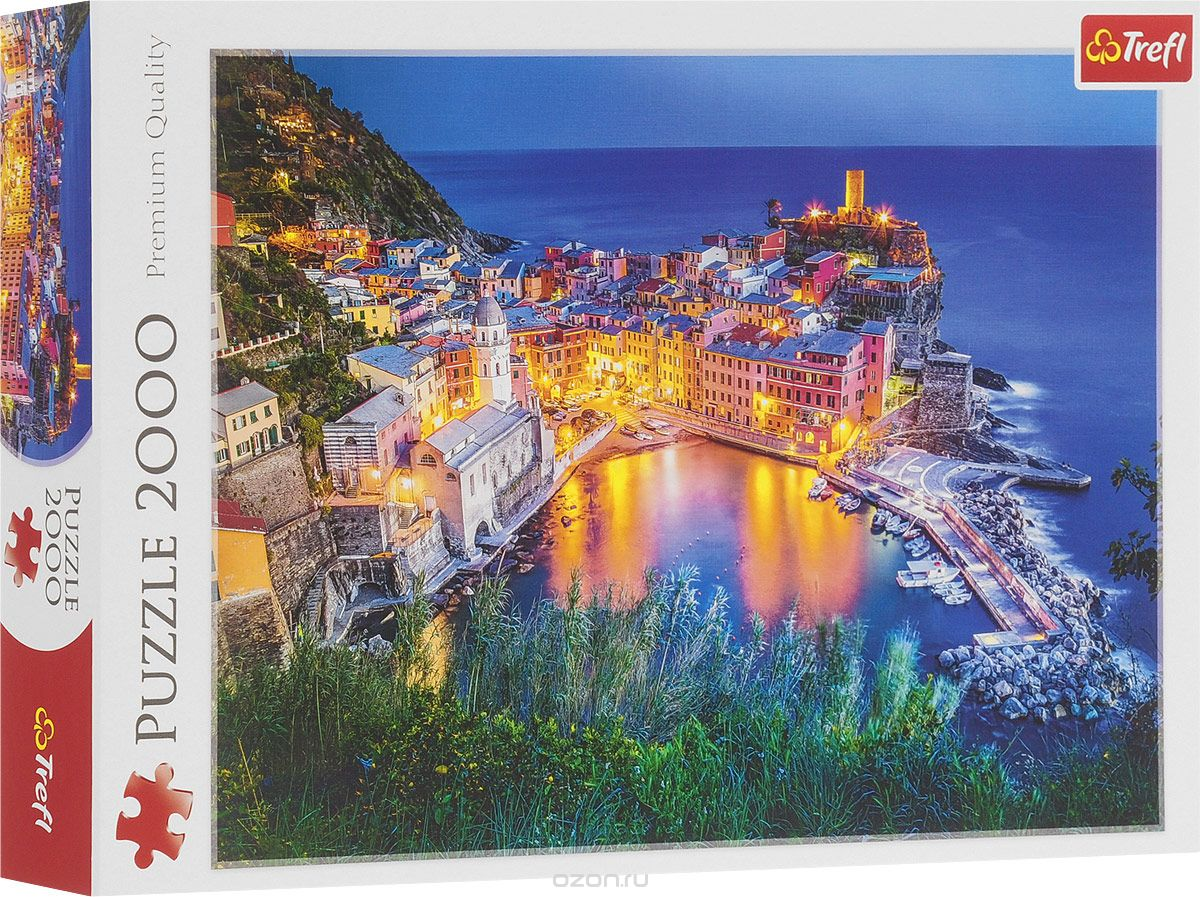 Puzzle 2000 piese - La Apus In Vernazza - Italia | Trefl