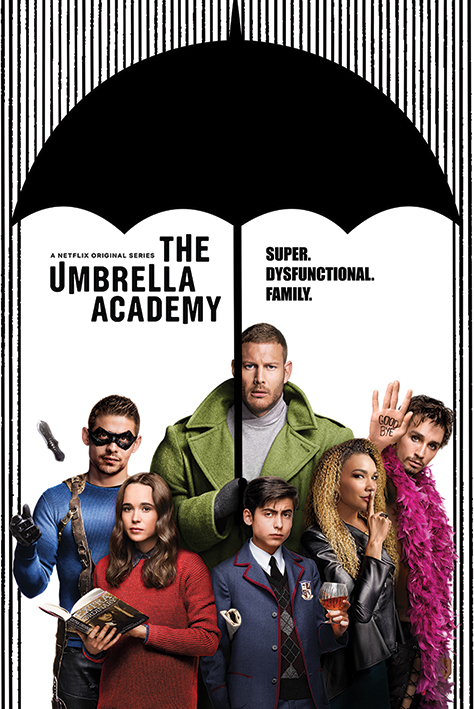 Poster - The Umbrella Academy - Super Dysfunctional Family thumbnail