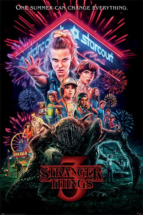 Poster - Stranger Things - Summer of 85 thumbnail
