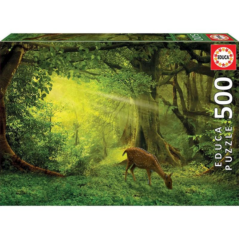 Puzzle 500 piese - Little Deer | Educa