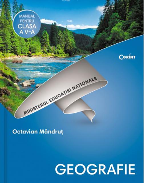 Geografie - Manual pentru clasa a V-a + CD