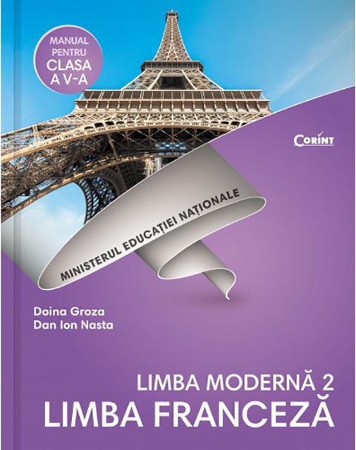 Limba franceza L2 - Manual pentru clasa a V-a + CD thumbnail