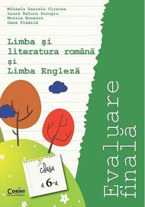 Evaluare finala clasa a VI-a. Limba si literatura romana si limba engleza thumbnail