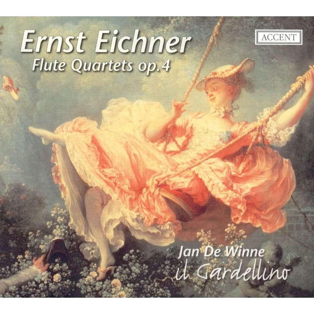 Ernst Eichner - Flute Quartets op.4