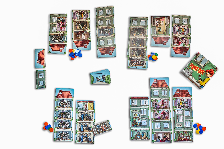 Rentier   Ideal Board Games