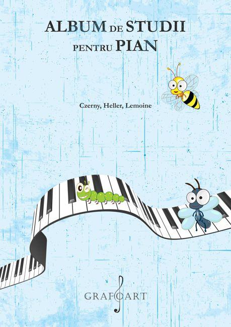 Album de studii pt pian vol. II