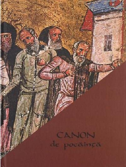 Canon de pocainta cuprinzand povestea sfintilor osanditi ai scarii