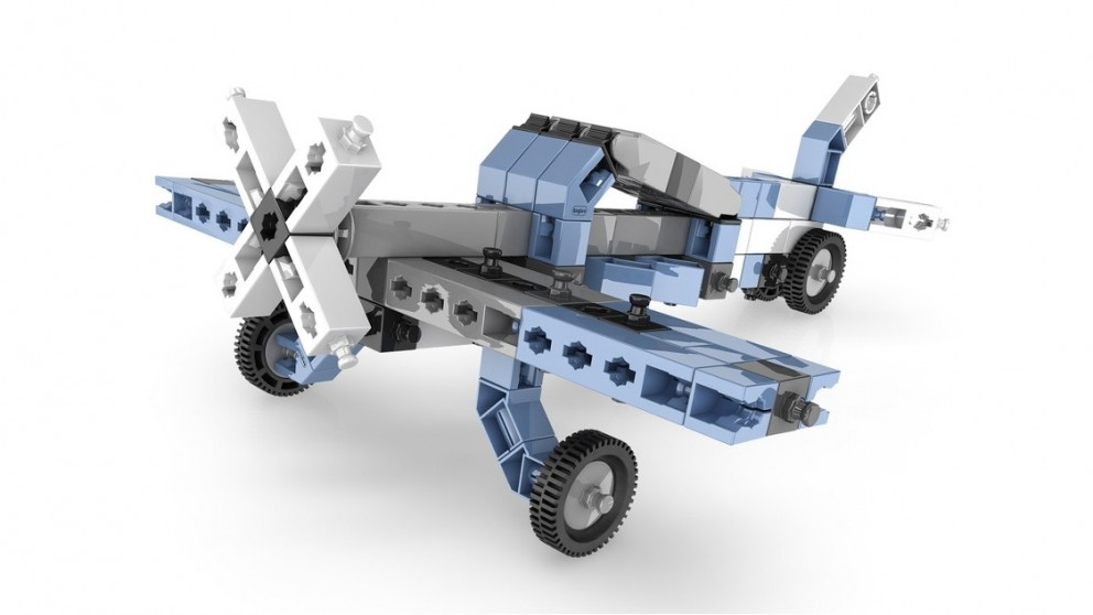 Set de constructie Inventor - 12 modele de aeronave | Engino - 2