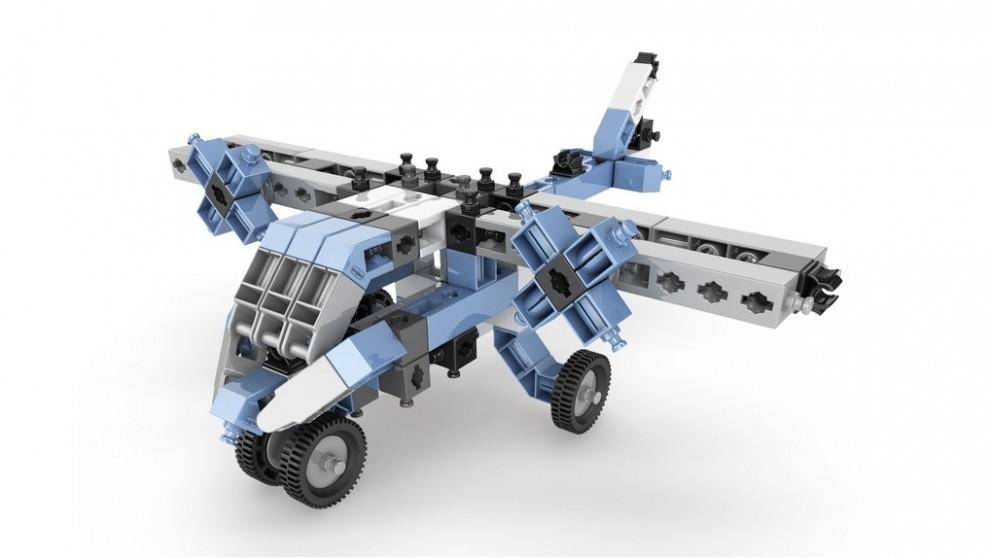Set de constructie Inventor - 12 modele de aeronave | Engino - 1