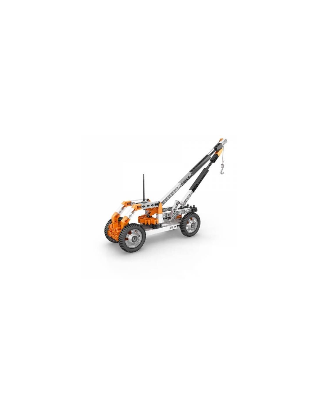 Set de constructie - STEM Wheels, Axles and Inclined Planes | Engino - 7
