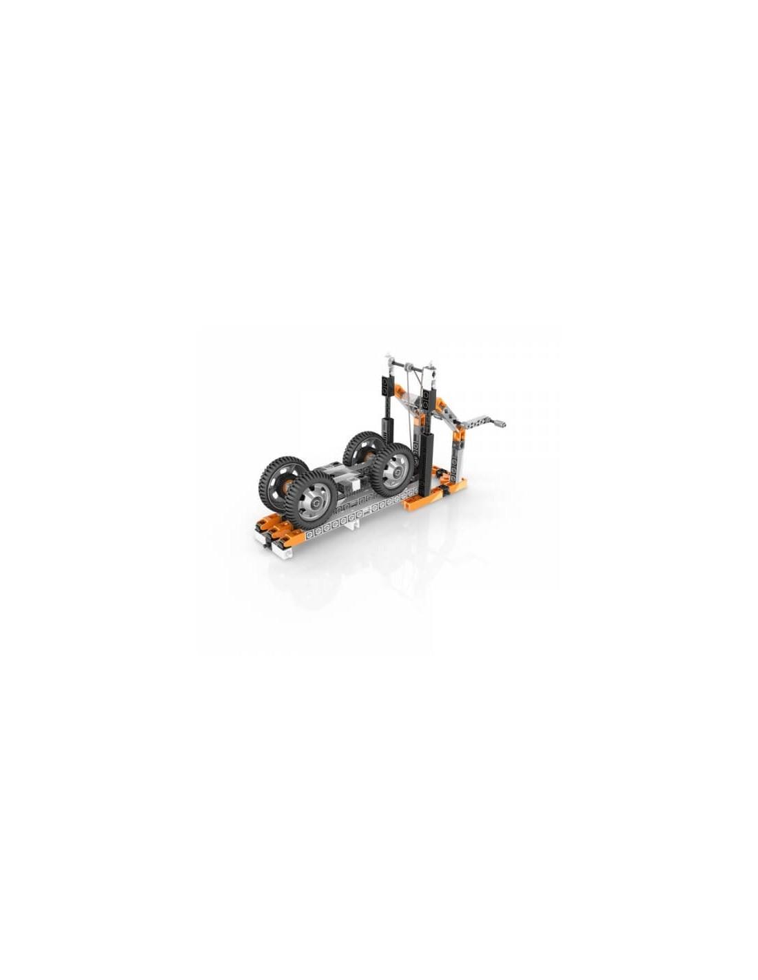 Set de constructie - STEM Wheels, Axles and Inclined Planes | Engino - 6