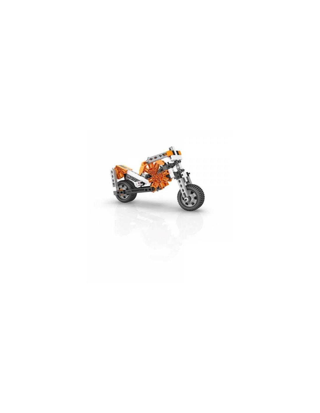 Set de constructie - STEM Wheels, Axles and Inclined Planes | Engino - 4