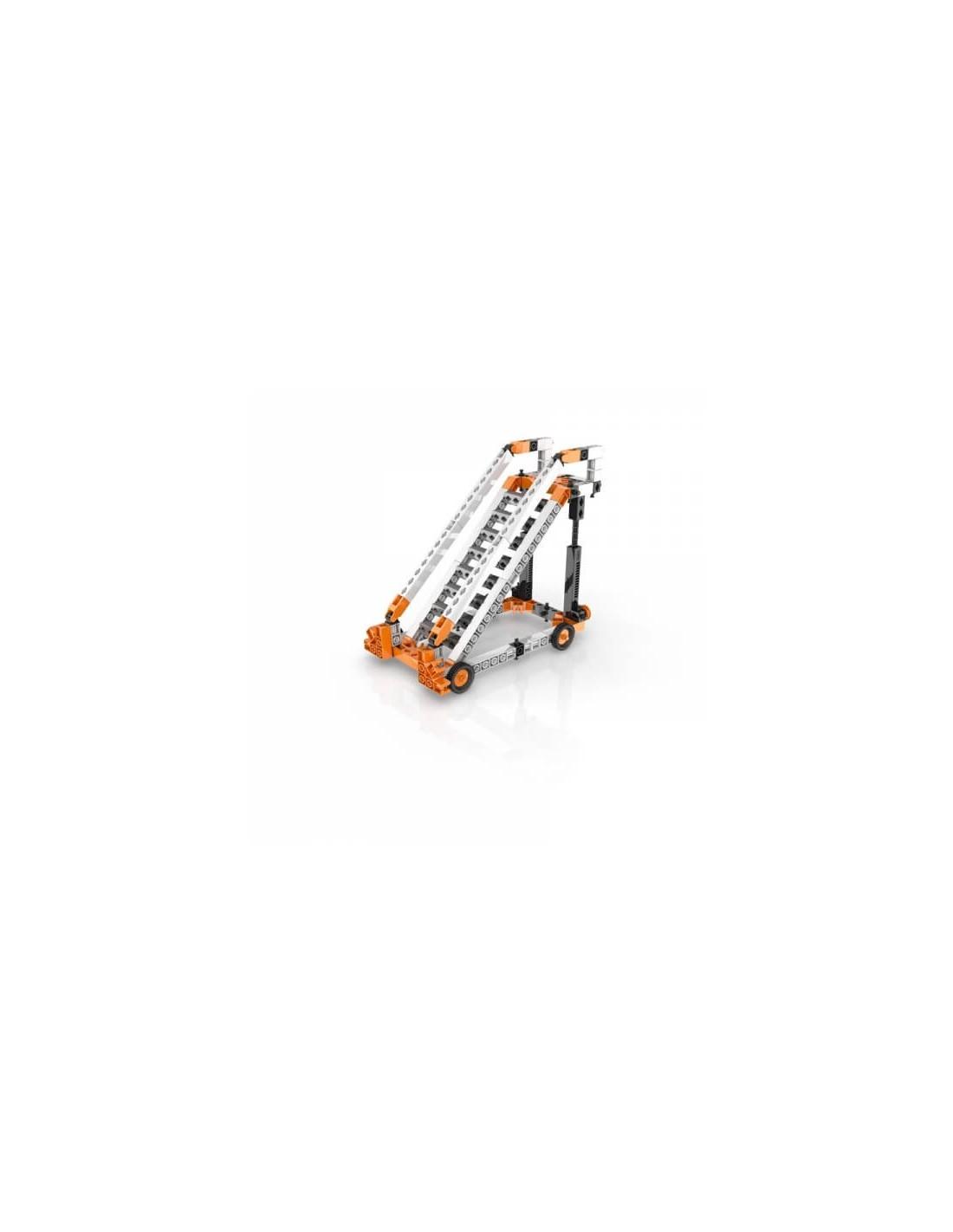 Set de constructie - STEM Wheels, Axles and Inclined Planes | Engino - 1