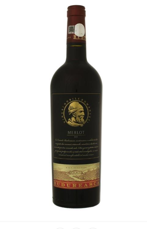 Vin rosu - Budureasca Organic, 2015, sec Budureasca