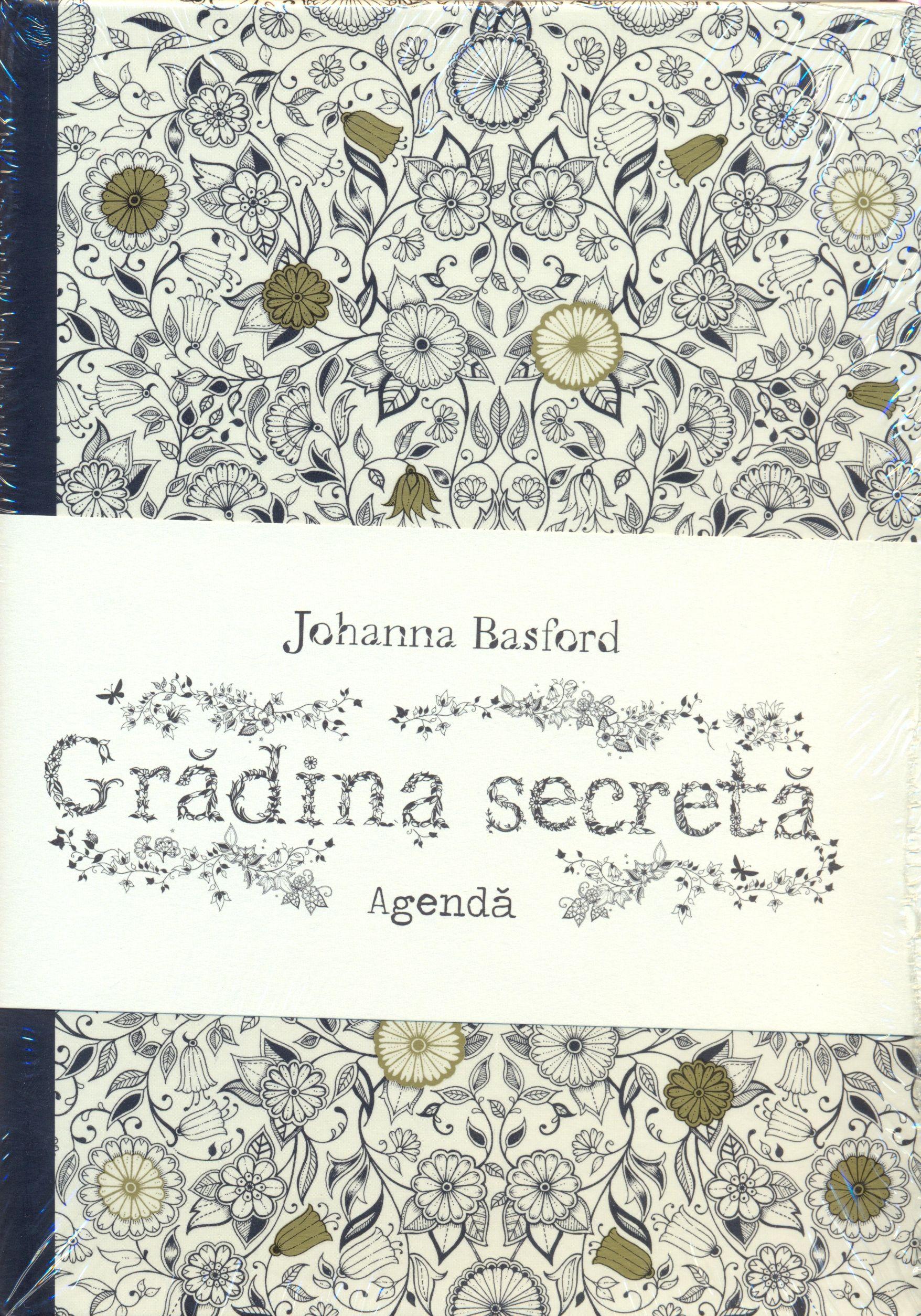 Agenda Gradina Secreta | Johanna Basford