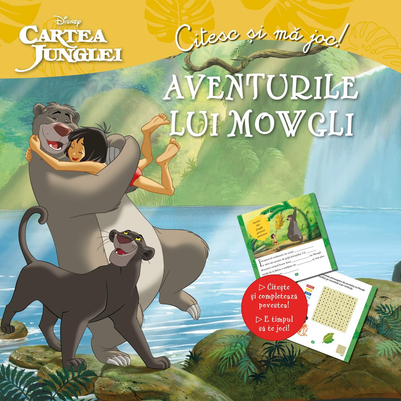 Cartea junglei. Aventurile lui Mowgli