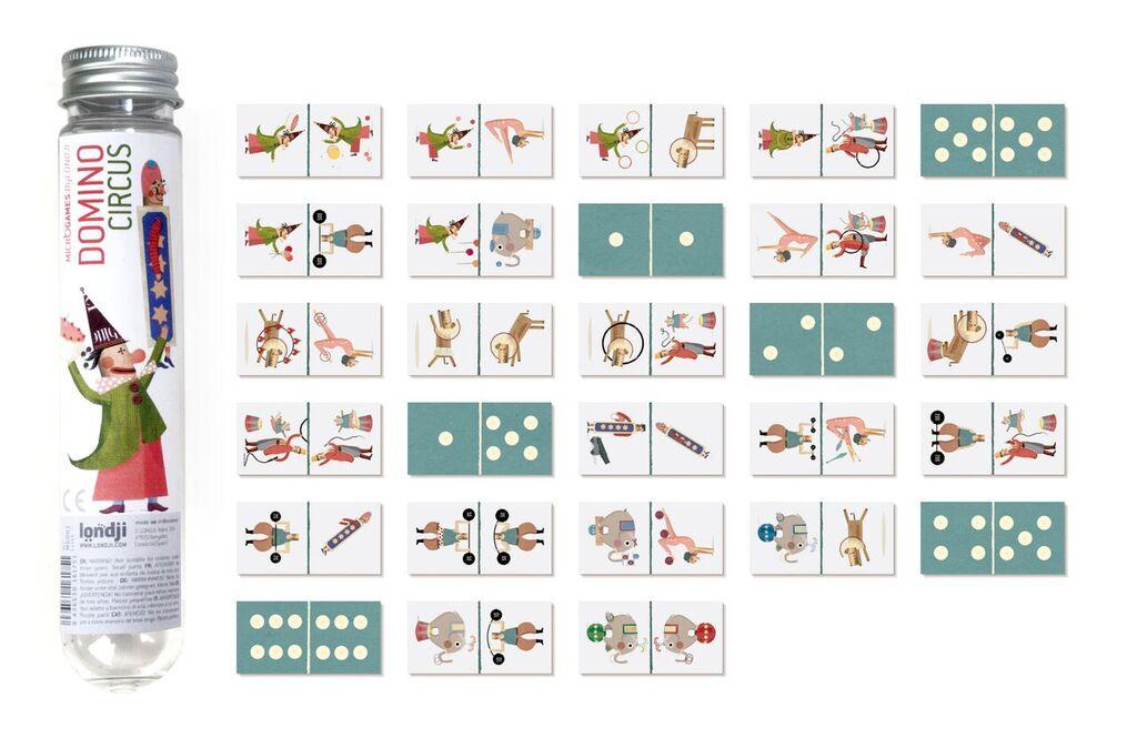Joc pentru memorie - Domino Circus | Londji