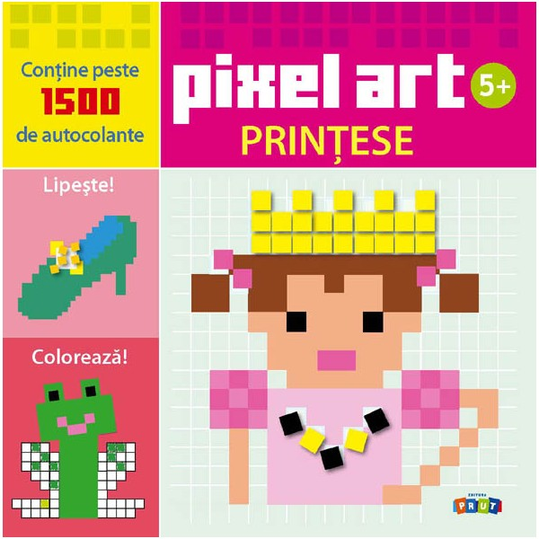 Pixel Art. Printese