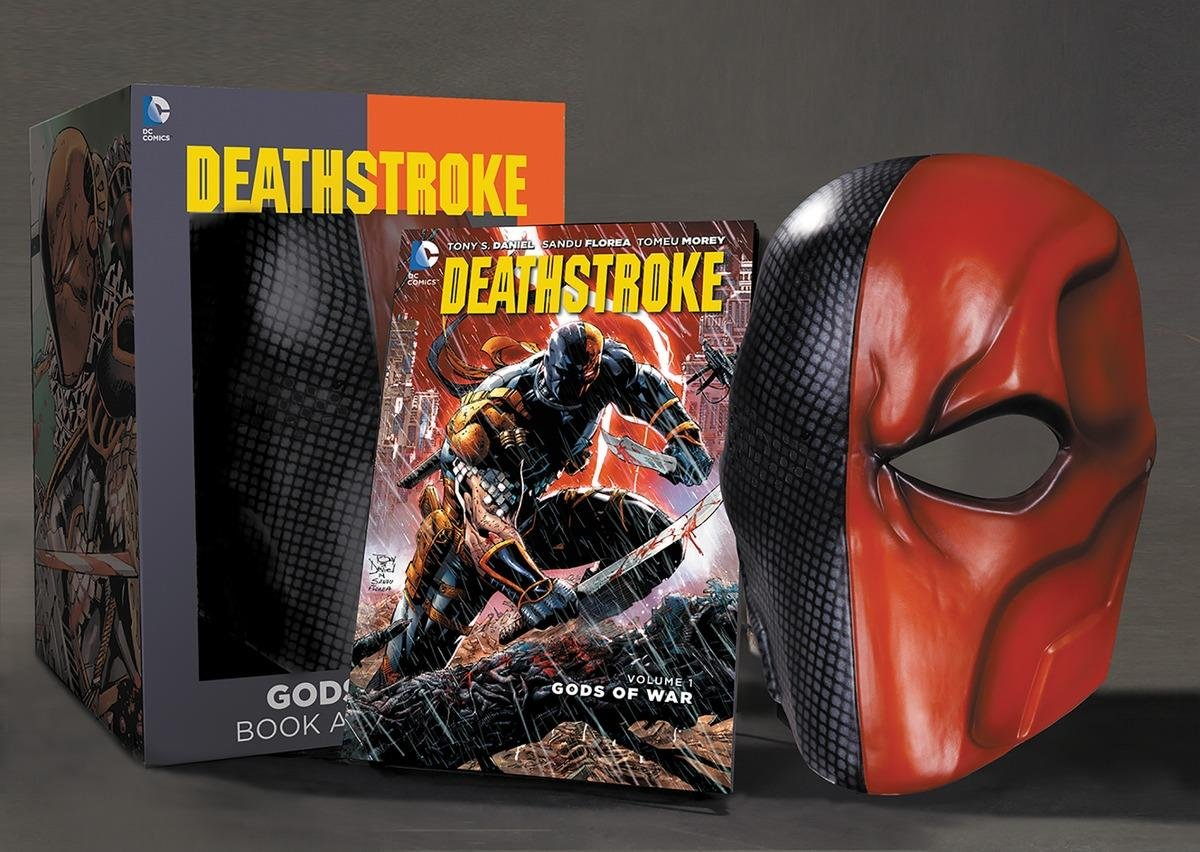 Set masca si carte Deathstroke |