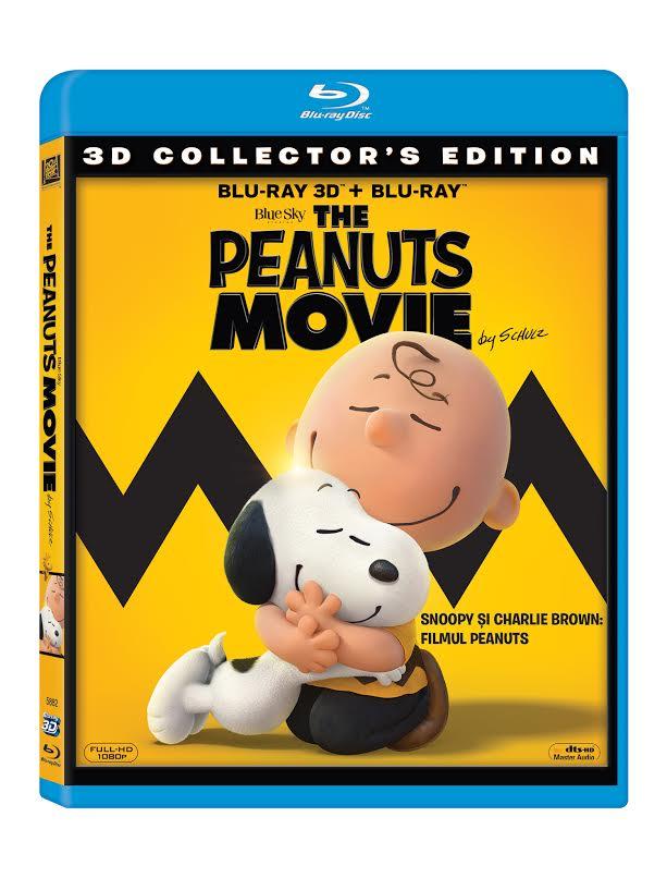 Snoopy si Charlie Brown: Filmul Peanuts 3D (Blu Ray Disc) / The Peanuts Movie