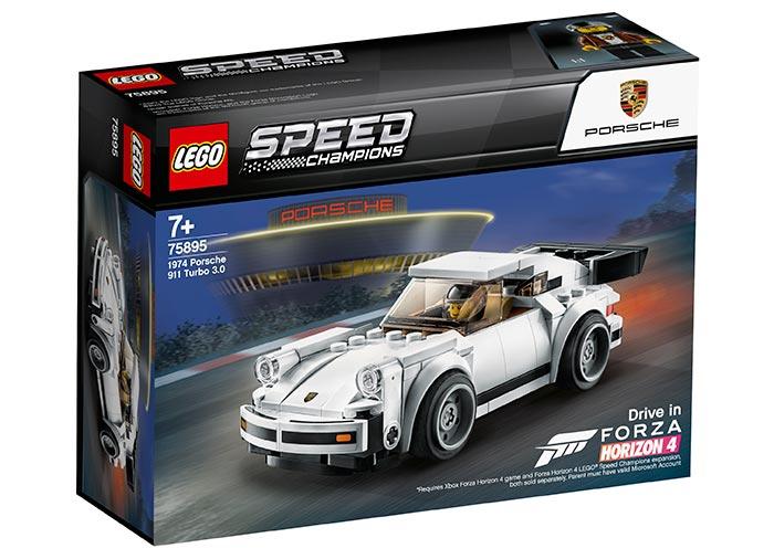 1974 Porsche 911 Turbo 3.0 (75895) | LEGO