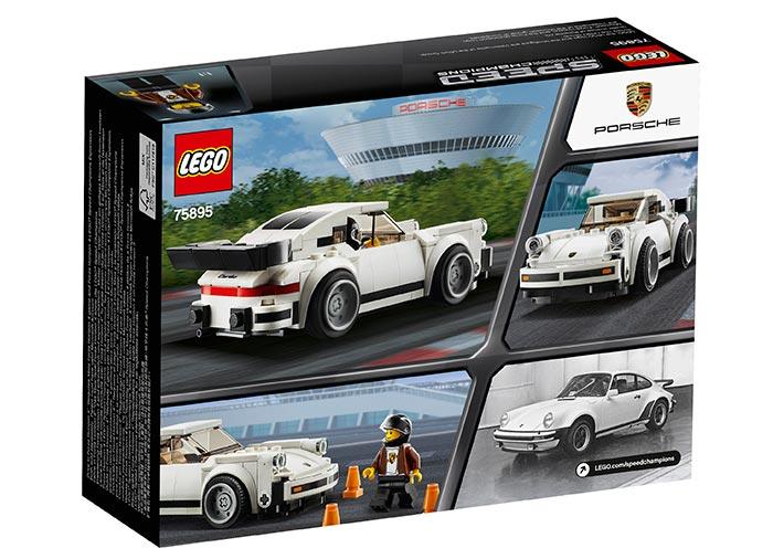 1974 Porsche 911 Turbo 3.0 (75895) | LEGO - 2