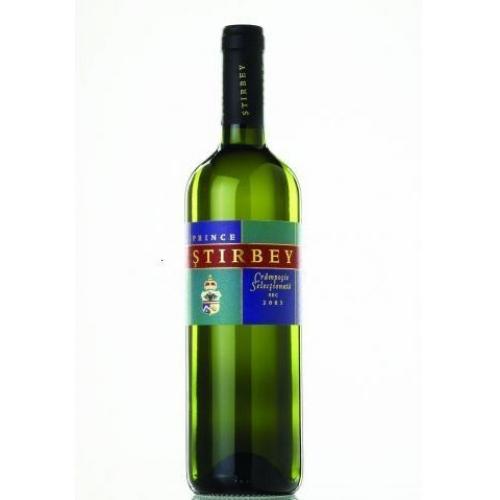 Vin alb, Prince Stirbey Selectata, Cramposie, 2016, sec Domeniile Stirbey