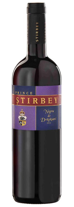 Vin rosu - Prince Stirbey Rezerva, Negru de Dragasani, 2015, sec Domeniile Stirbey
