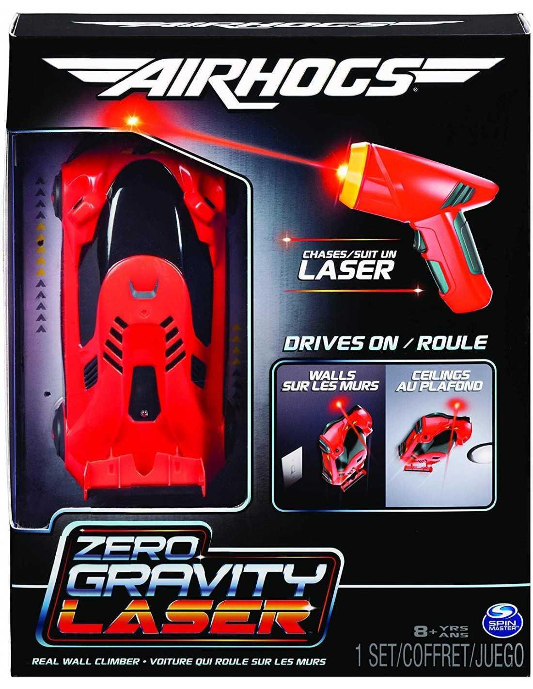 Jucarie - Masinuta - Air Hogs Zero Gravity laser racer | Spin Master