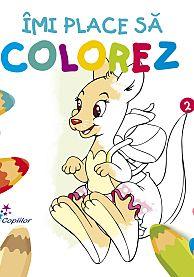 Imi place sa colorez Vol. 2