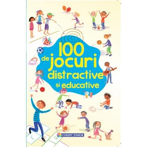 Imagine 100 De Jocuri Distractive Si Educative - Rebecca Gilpin