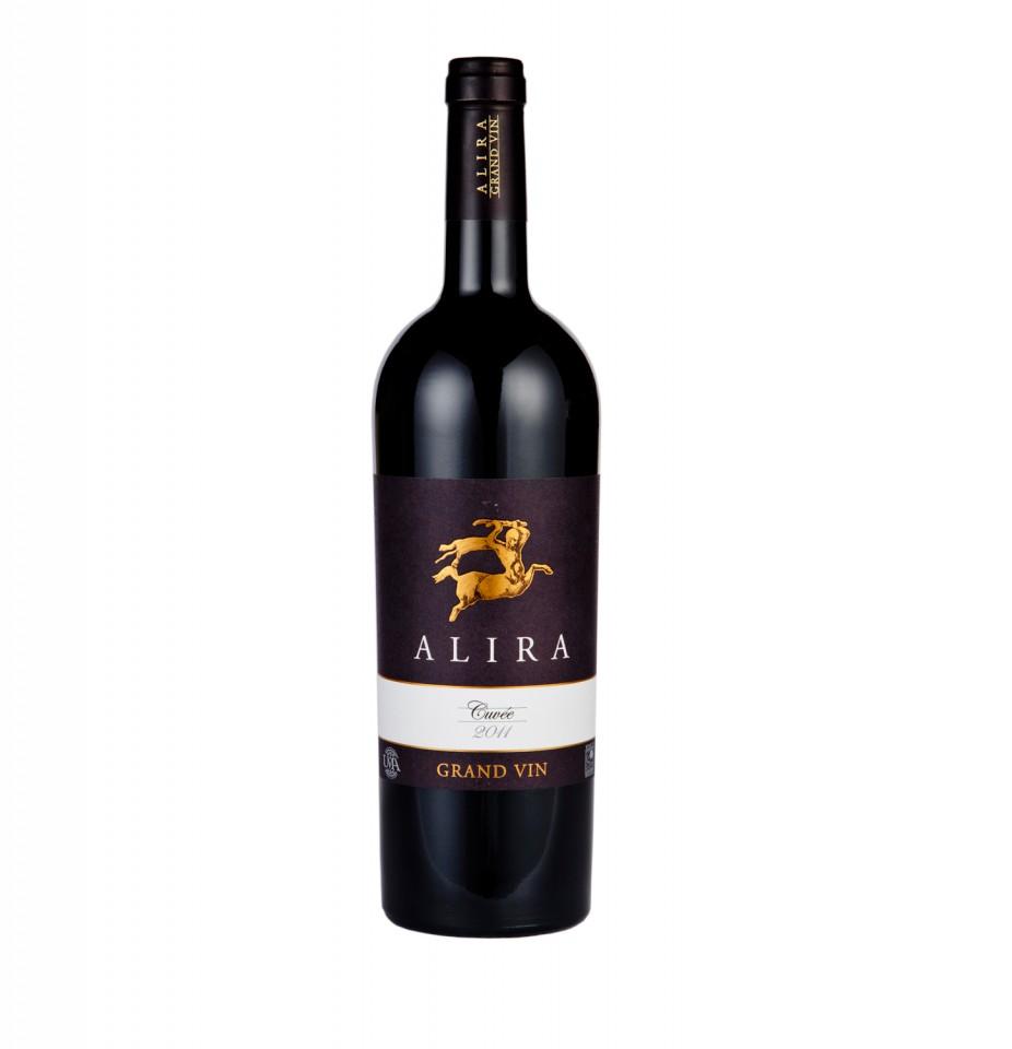 Vin rosu - Alira Grand, 2011, sec Alira
