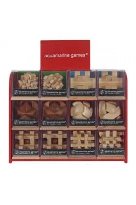 Mini Puzzle Din Lemn - Mai Multe Modele | Aquamarine Games