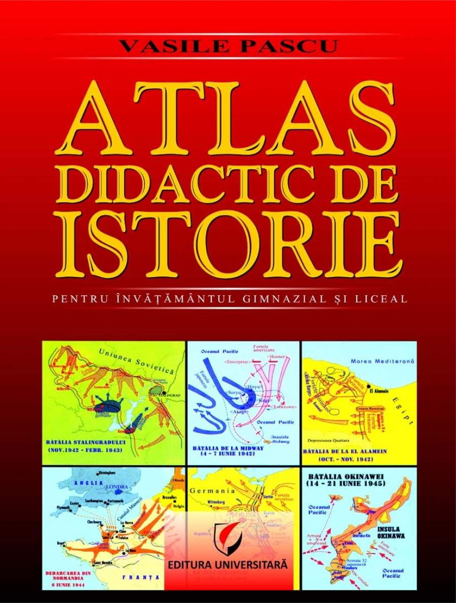 Imagine Atlas Didactic De Istorie - Vasile Pascu