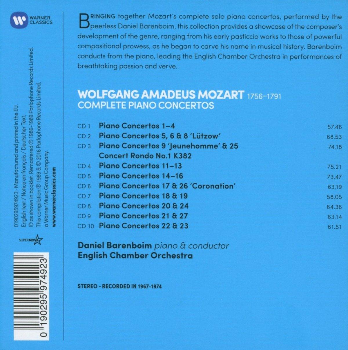Mozart - The Complete Piano Concertos