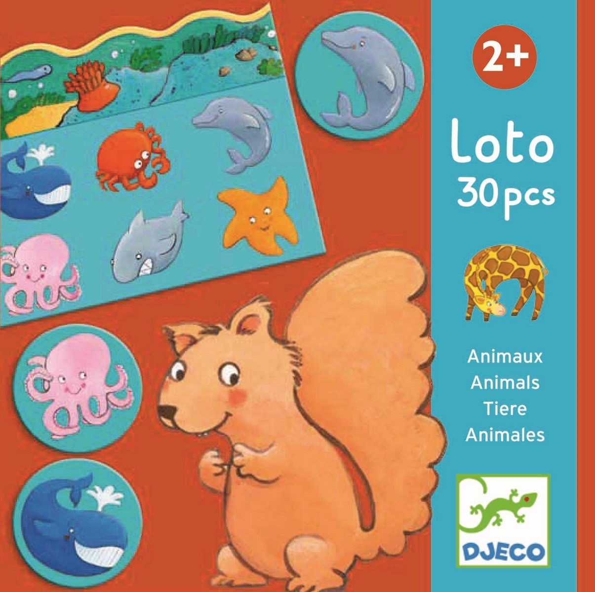 Joc - Lotto Animals | Djeco