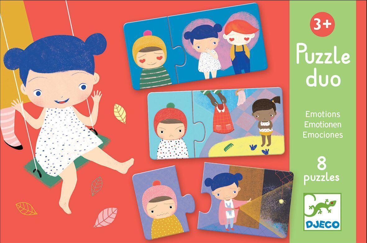 Puzzle - Emotions | Djeco